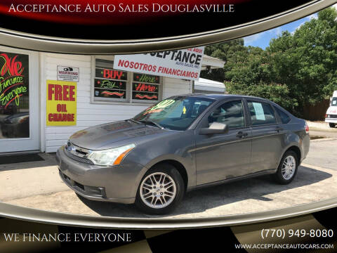 2009 Ford Focus for sale at Acceptance Auto Sales Douglasville in Douglasville GA
