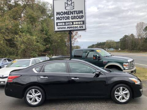 2014 Nissan Altima for sale at Momentum Motor Group in Lancaster SC
