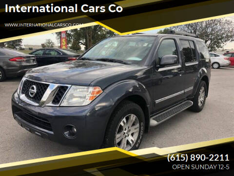 2011 Nissan Pathfinder for sale at International Cars Co in Murfreesboro TN
