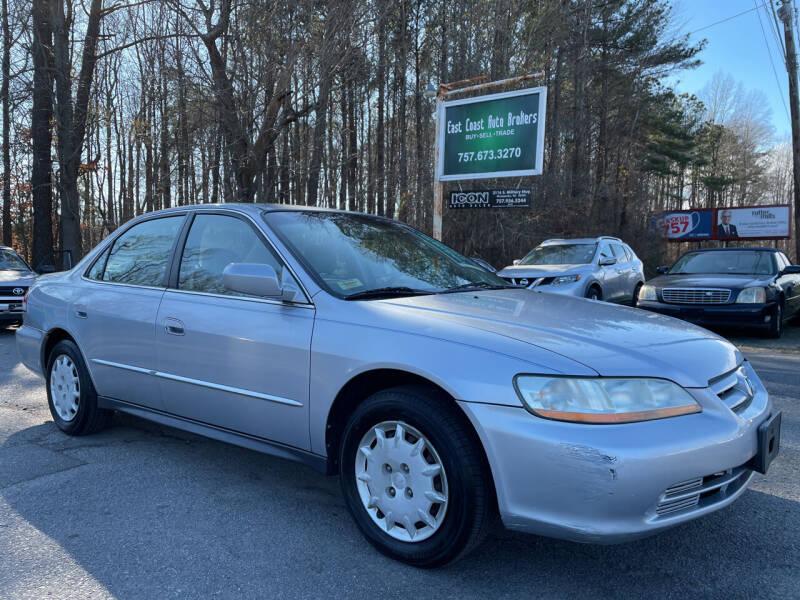 2002 Honda Accord for sale at East Coast Auto Brokers in Chesapeake VA