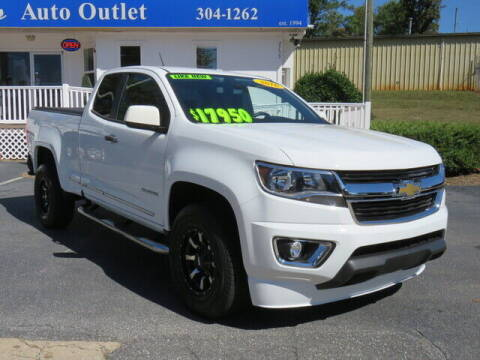 2016 Chevrolet Colorado for sale at Colbert's Auto Outlet in Hickory NC