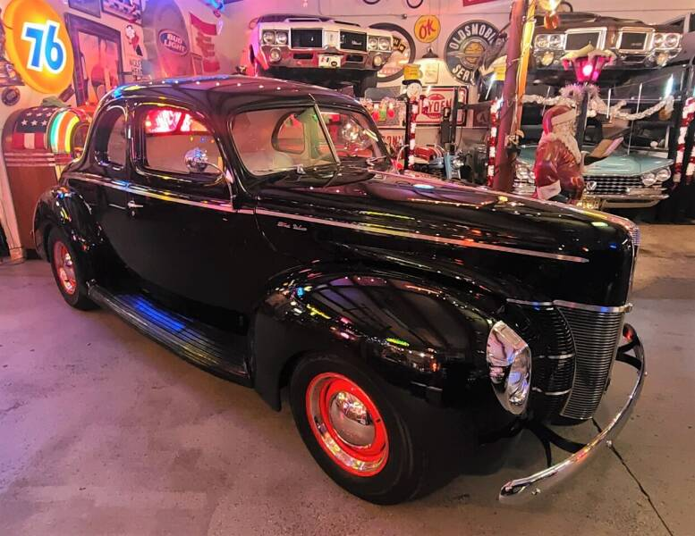 1940 Ford Deluxe for sale at MILFORD AUTO SALES INC in Hopedale MA
