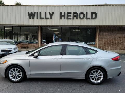 2019 Ford Fusion for sale at Willy Herold Automotive in Columbus GA