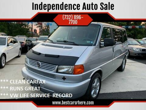 2003 Volkswagen EuroVan for sale at Independence Auto Sale in Bordentown NJ