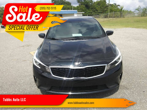 2018 Kia Forte for sale at Tubbs Auto LLC in Tuscaloosa AL
