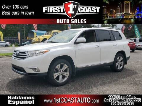 2013 Toyota Highlander for sale at 1st Coast Auto -Cassat Avenue in Jacksonville FL