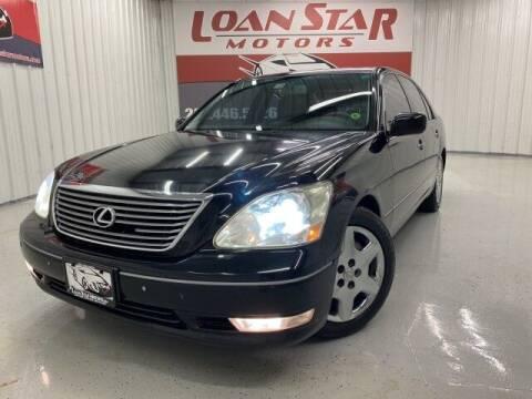 2004 Lexus LS 430 for sale at Loan Star Motors in Humble TX