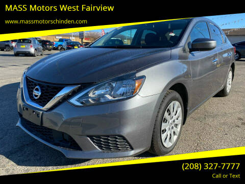 2018 Nissan Sentra for sale at MASS Motors West Fairview in Boise ID