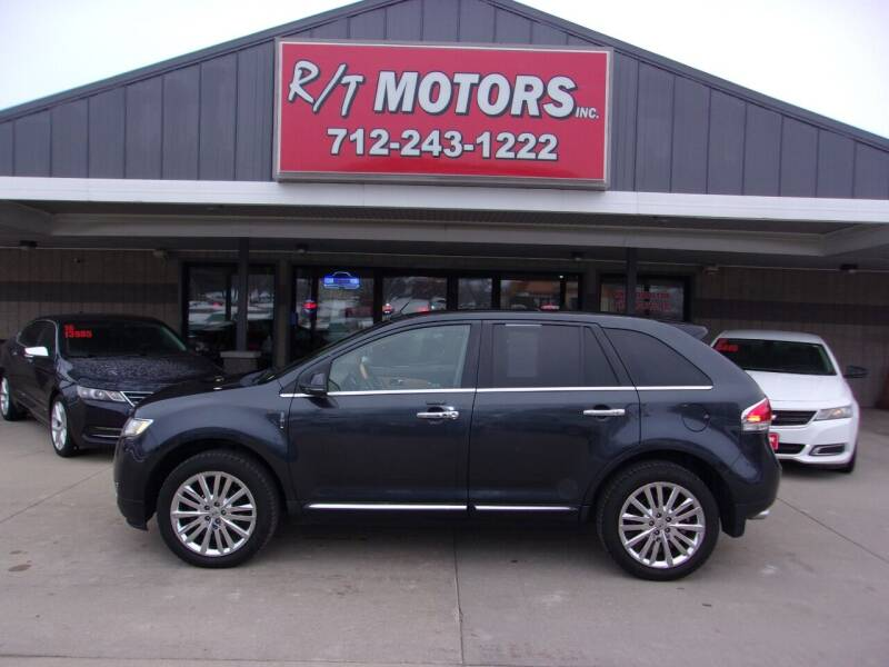 2013 Lincoln MKX for sale at RT Motors Inc in Atlantic IA
