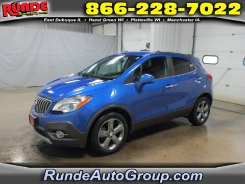 2013 Buick Encore for sale at Runde Chevrolet in East Dubuque IL