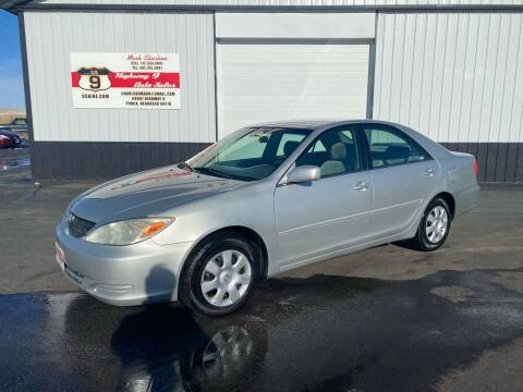 2003 Toyota Camry for sale at Highway 9 Auto Sales - Visit us at usnine.com in Ponca NE