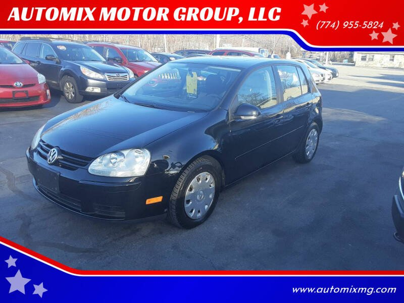 2008 Volkswagen Rabbit for sale at AUTOMIX MOTOR GROUP, LLC in Swansea MA