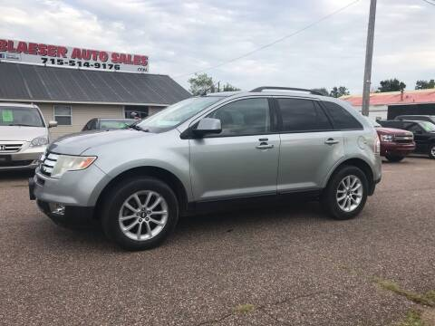 2007 Ford Edge for sale at BLAESER AUTO LLC in Chippewa Falls WI