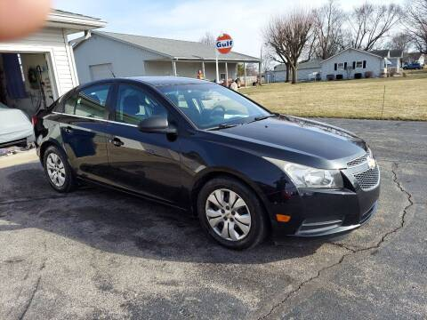 2012 Chevrolet Cruze for sale at CALDERONE CAR & TRUCK in Whiteland IN