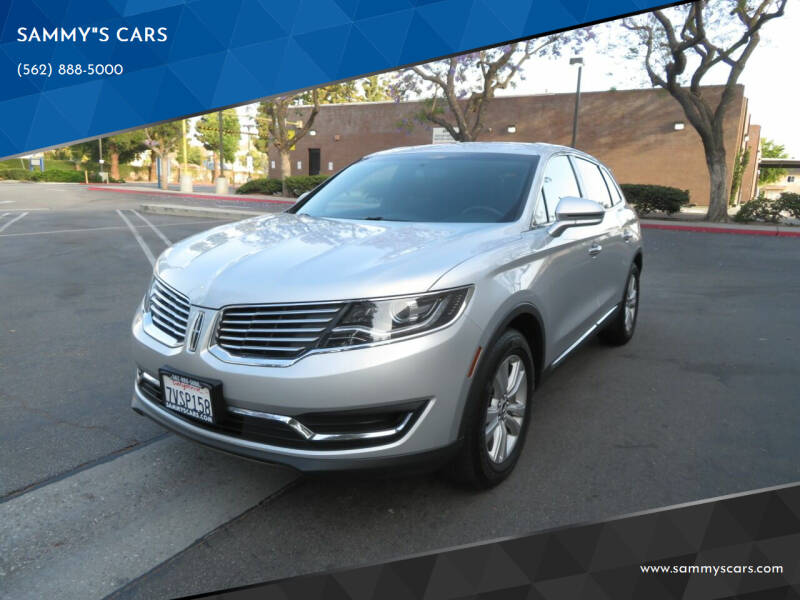 """2016 Lincoln MKX for sale at SAMMY""""S CARS in Bellflower CA"""