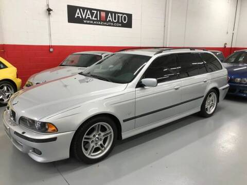 2003 BMW 5 Series for sale at AVAZI AUTO GROUP LLC in Gaithersburg MD