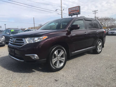 2011 Toyota Highlander for sale at Autohaus of Greensboro in Greensboro NC