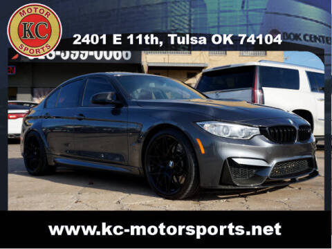 2017 BMW M3 for sale at KC MOTORSPORTS in Tulsa OK