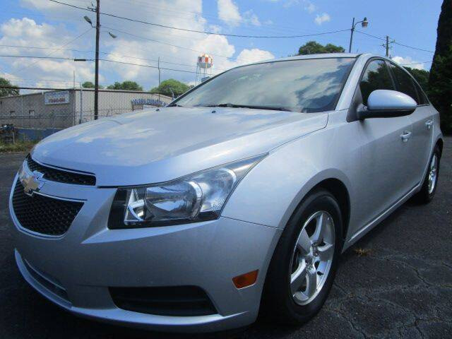 2012 Chevrolet Cruze for sale at Lewis Page Auto Brokers in Gainesville GA