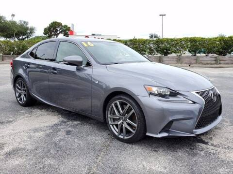2016 Lexus IS 200t for sale at GATOR'S IMPORT SUPERSTORE in Melbourne FL