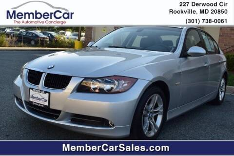 2008 BMW 3 Series for sale at MemberCar in Rockville MD