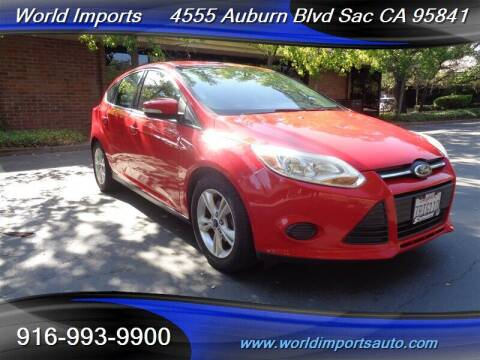 2013 Ford Focus for sale at World Imports in Sacramento CA