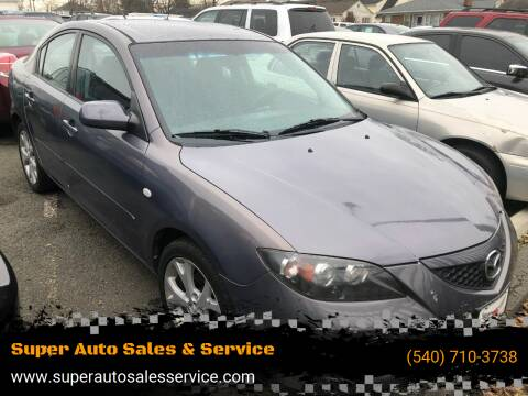 2009 Mazda MAZDA3 for sale at Super Auto Sales & Services in Fredericksburg VA