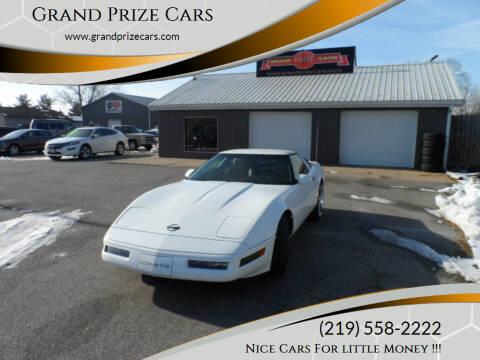 1996 Chevrolet Corvette for sale at Grand Prize Cars in Cedar Lake IN