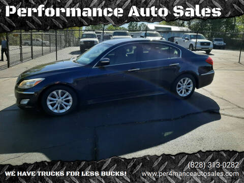 2013 Hyundai Genesis for sale at Performance Auto Sales in Hickory NC