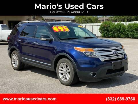 2011 Ford Explorer for sale at Mario's Used Cars - Pasadena Location in Pasadena TX