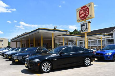2014 BMW 5 Series for sale at Houston Used Auto Sales in Houston TX