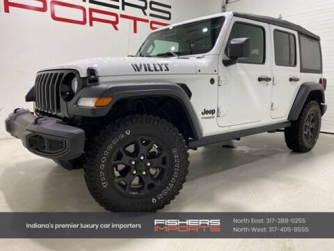 2020 Jeep Wrangler Unlimited for sale at Fishers Imports in Fishers IN