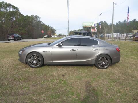 2017 Maserati Ghibli for sale at Ward's Motorsports in Pensacola FL