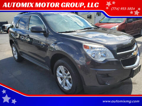 2013 Chevrolet Equinox for sale at AUTOMIX MOTOR GROUP, LLC in Swansea MA