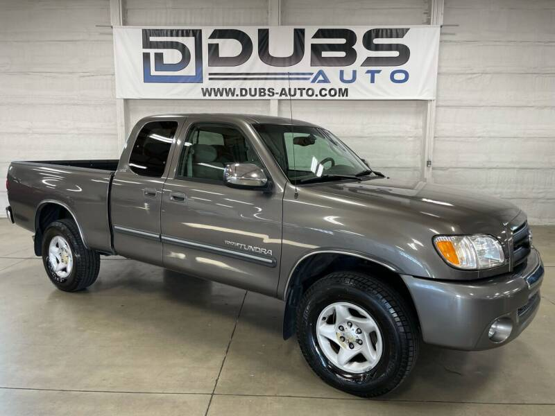 2003 Toyota Tundra for sale at DUBS AUTO LLC in Clearfield UT