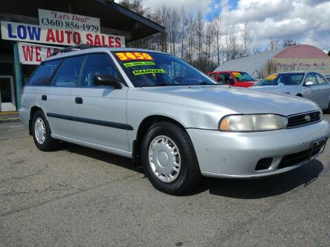 1997 Subaru Legacy for sale at Low Auto Sales in Sedro Woolley WA