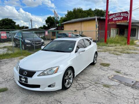 2009 Lexus IS 250 for sale at Quality Auto Group in San Antonio TX