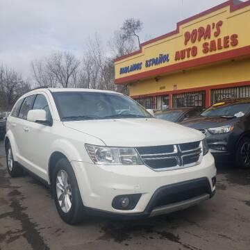 2013 Dodge Journey for sale at Popas Auto Sales in Detroit MI