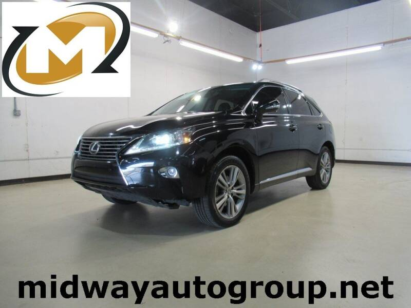 2015 Lexus RX 350 for sale at Midway Auto Group in Addison TX