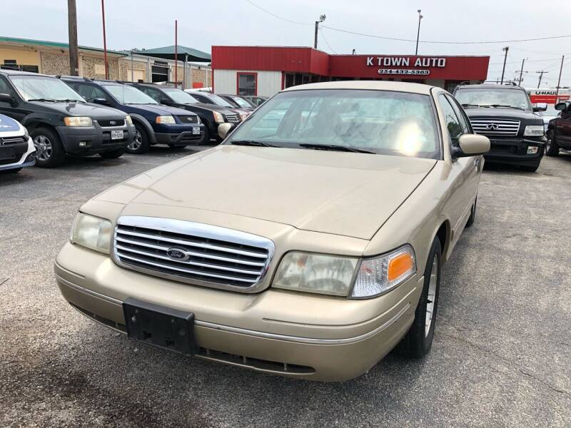 1999 Ford Crown Victoria for sale at K Town Auto in Killeen TX