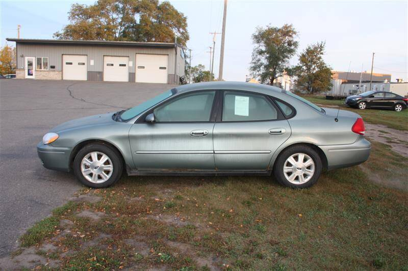 2006 Ford Taurus for sale at SCHMITZ MOTOR CO INC in Perham MN