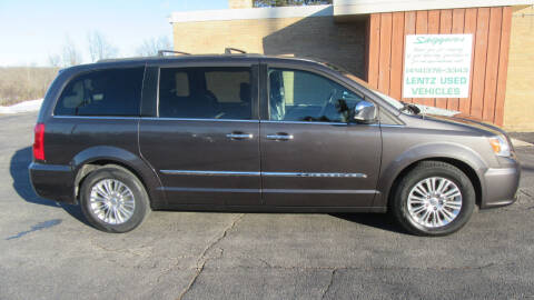 2015 Chrysler Town and Country for sale at LENTZ USED VEHICLES INC in Waldo WI