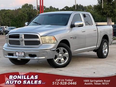 2016 RAM Ram Pickup 1500 for sale at Bonillas Auto Sales in Austin TX