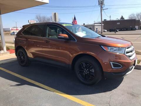 2017 Ford Edge for sale at Stach Auto in Edgerton WI