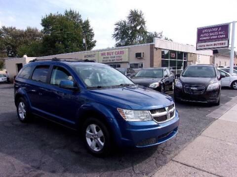 2009 Dodge Journey for sale at Gregory J Auto Sales in Roseville MI