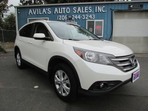 2013 Honda CR-V for sale at Avilas Auto Sales Inc in Burien WA