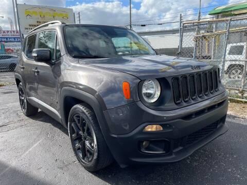 2017 Jeep Renegade for sale at MIAMI AUTO LIQUIDATORS in Miami FL