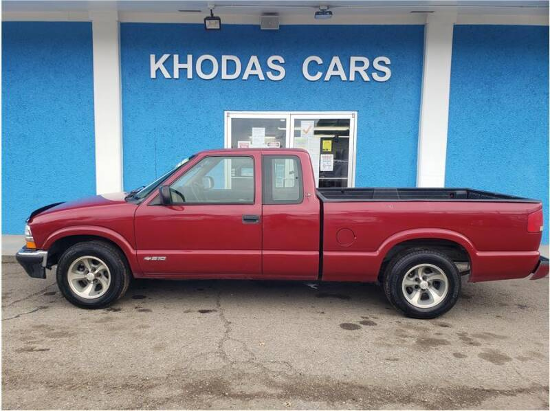 2003 Chevrolet S-10 for sale at Khodas Cars in Gilroy CA