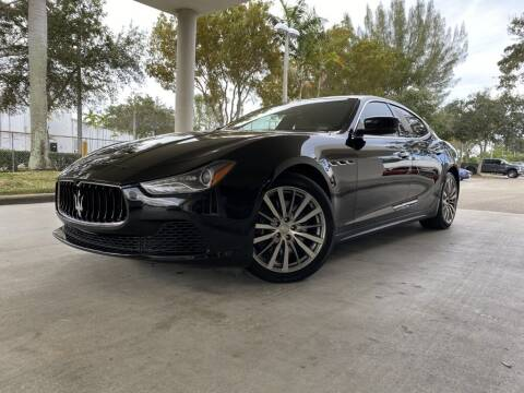 2016 Maserati Ghibli for sale at FLORIDA DIESEL CENTER in Davie FL