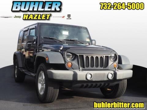 2009 Jeep Wrangler Unlimited for sale at Buhler and Bitter Chrysler Jeep in Hazlet NJ